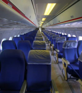 reclining airline seats